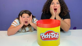 GIANT Mystery Play-Doh SLIME