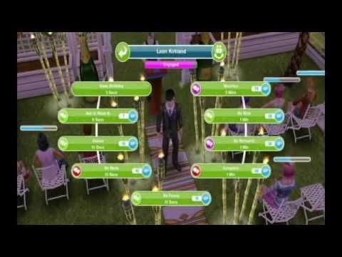 Sims FreePlay - Preparing to Get Married [Love Story Video]