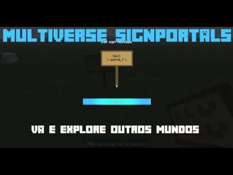 [Plugin] Multiverse SignPortals - Mundos em Placas - Minecraft Bukkit