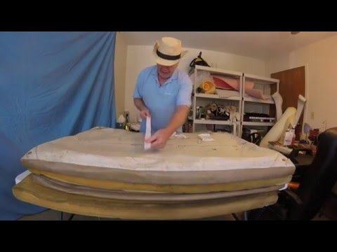 Boat Upholstery Chap 28 Part 1-Wellcraft sundeck cushions