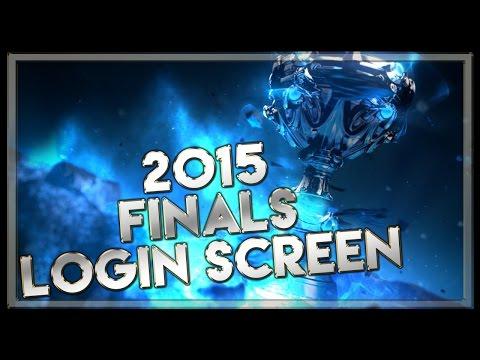 2015 Finals Login Screen with Music - League of Legends Music