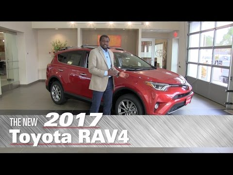 The New 2017 Toyota RAV4 XLE - Minneapolis, St Paul, Brooklyn Center, MN - Review