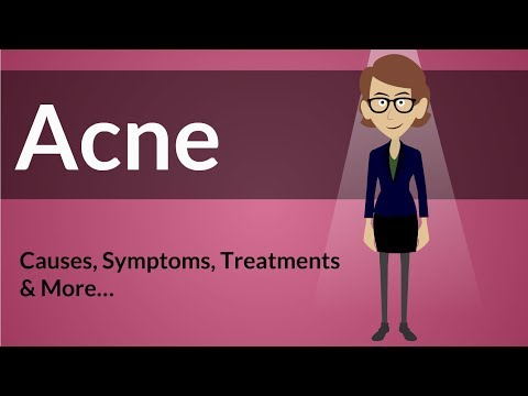 Acne -  Causes, Symptoms, Treatments & More…