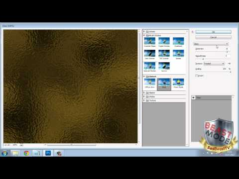 How to make GOLD TEXTURE in photoshop CS5/CS6