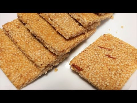 Til Gur Chikki Recipe | तिल गुड़ की खस्ता चिक्की कैसे बनाये | How to Make Til Gud Chikki