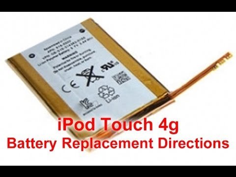 How to: Replace iPod Touch 4th Gen Battery | DirectFix