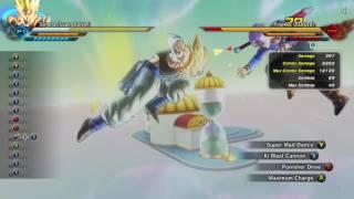 Dragon Ball xenovers 2  XB1 SS Gogeta combo video