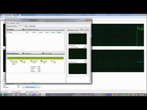 How to check free RAM memory your pc