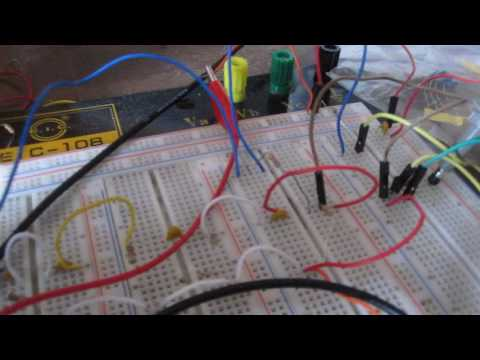 Sine wave Generator Circuit built with a Transistor