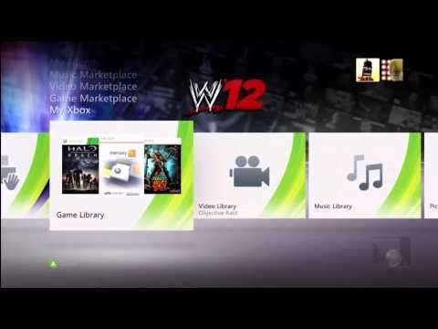 WWE 12 PREMIUM XBOX 360 THEME