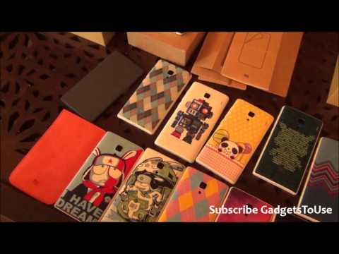 Xiaomi Redmi 1S India Accessories, Designs, Flip Covers, Cases and Overview