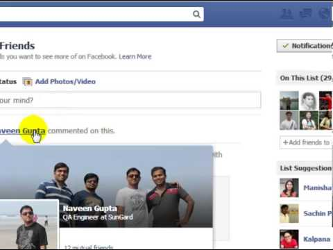 How to edit close friends in facebook