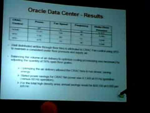 Oracle Heat Containment ASHRAE Case Study