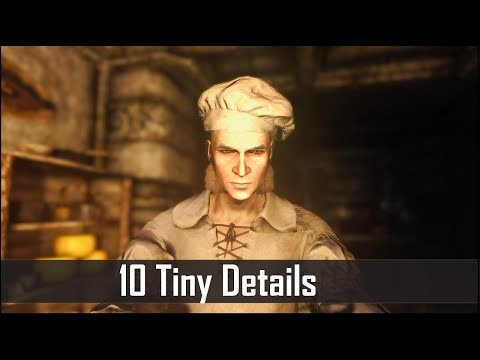 Skyrim: Yet Another 10 Tiny Details That You May Still Have Missed in The Elder Scrolls 5 (Part 32)