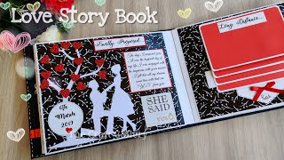 Love Story Book || Romantic Gift || Love Book