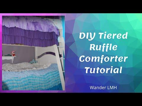 Tiered Ruffle Comforter