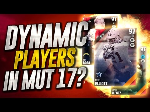 DYNAMIC PLAYERS coming to MADDEN 17 ULTIMATE TEAM!? - ROOKIE PREMIERE PACK OPENING!