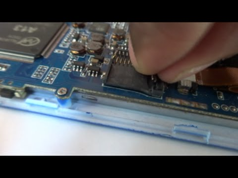 How to fix sd card slot in android tablets