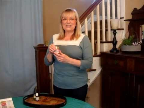 Spray essential oils on household problems