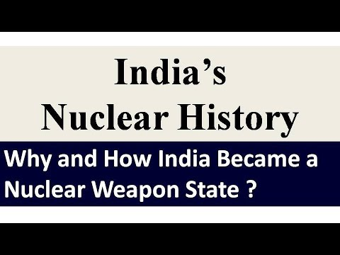 India's Nuclear History ( In Hindi & English)