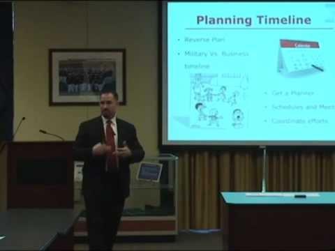 Military Veteran Transition Seminar (Part 1 of 3)