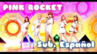[Sub. Español] Dal shabet - Pink Rocket - Live (달샤벳) (핑크 로켓)