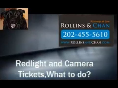 Criminal Lawyer in Washington, DC - Red Light and Camera Tickets