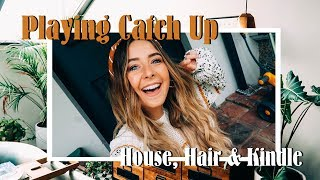 Playing Catch up, House Sorting, Long Hair & Mini Kindle Review