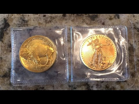 Gold Buffalo vs Gold Eagle. What's the difference? 1 OZ