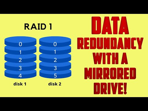 How to Create a RAID 1 Mirrored Drive for Redundancy