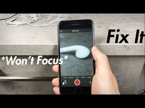 iPhone 6 Camera Autofocus Not Working - How to Fix