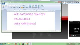 How to change wifi password huawei hg8245h