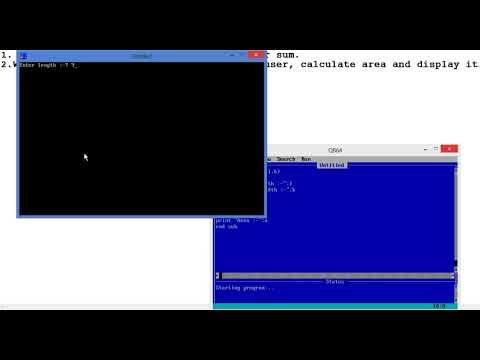 QBasic Programming Using SUB Procedure !!!