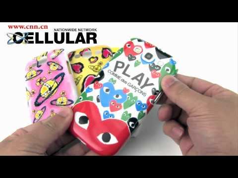 Samsung Galaxy S3 Vivienne Westwood Play Comme des Garçons Plugged branché snap cases