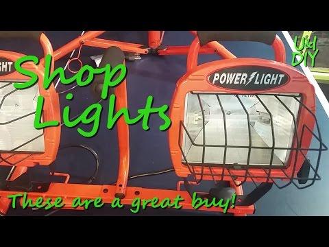 Shop Lights - DIY Tool Tip