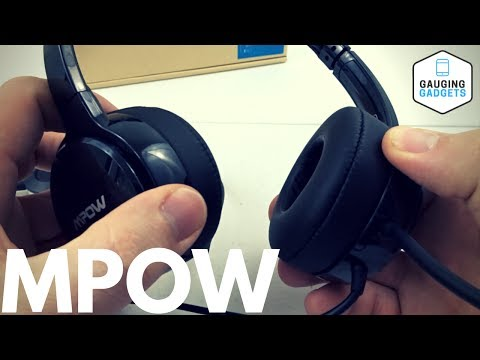 Mpow PC Headset Review - Over Ear Computer Headphones With Mic