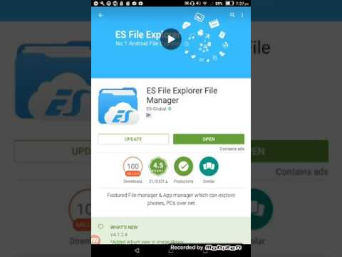 how to use ES file explorer file manager application malayalam