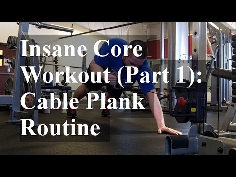 Cable Plank Routine: Core Workout (Part 1)
