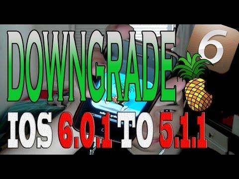 DOWNGRADE IOS 6.1.3 PARA IOS 5.1.1 por iPhoneBrasil22