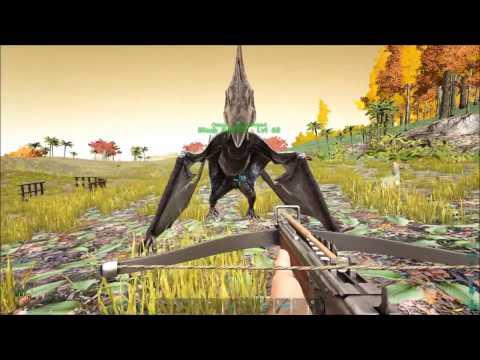 Ark Survival Evolved: TAMING A PTERANADON