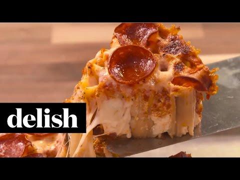 How To Make Pizza Rigatoni Pie | Delish