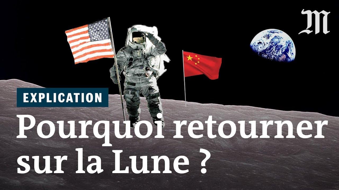 Pourquoi vouloir marcher à nouveau sur la Lune ?