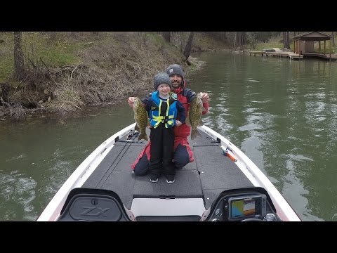 Grayson's First Bass Fishing Trip of 2017
