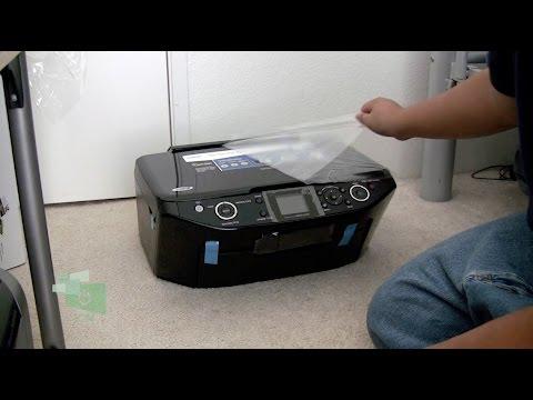 Epson RX595 Printer unbox & set up