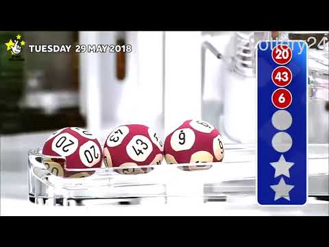2018 05 29 Euro Millions Number and draw results