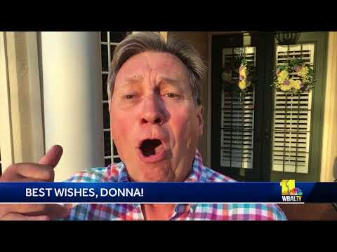 Former 'Evening Magazine' co-host Jeff Pylant sends best wishes to Donna