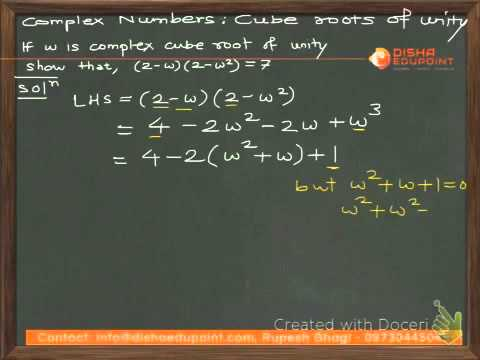 Complex Numbers IV - Cube Roots of Unity