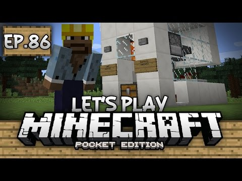 Survival Let's Play Ep. 86 - INFINITE CHICKEN FARM!!! - Minecraft PE (Pocket Edition)
