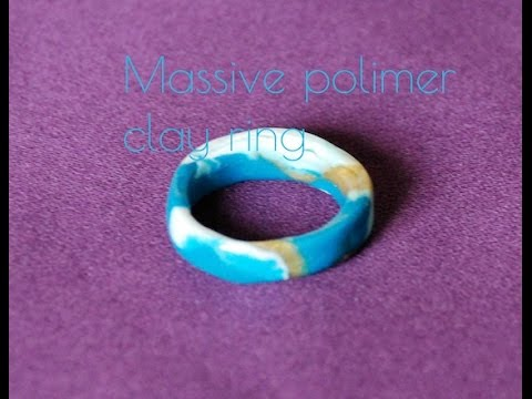 CRAFT How to Make a Massive Polymer Clay Ring