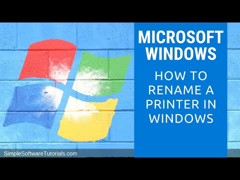 Tutorial: How to Rename a Printer in Windows 7